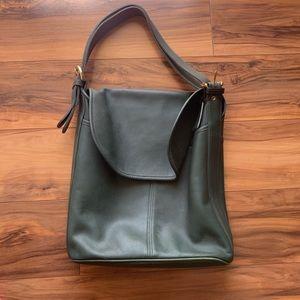 Vintage coach bucket shoulder bag
